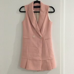 Zara Pink Vest Dress